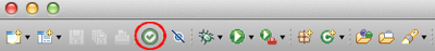 Icon in the toolbar